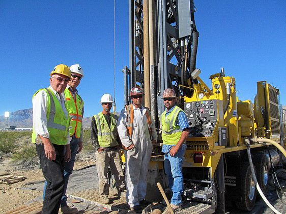 AZCA Drilling and Pump Inc, team posing for a picture