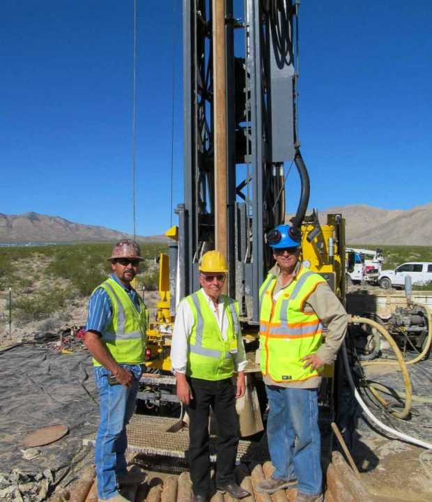 AZCA Drilling and Pump Inc, team Smiling for a picture